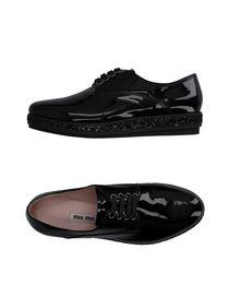 MIU MIU Laced shoes