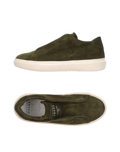Chaussures De Sport De La Couronne En Cuir réduction commercialisable tHO8AU