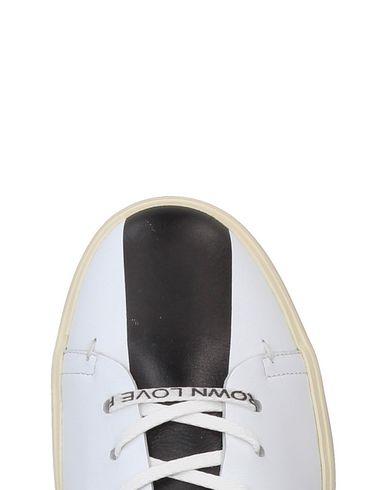 Chaussures De Sport De La Couronne En Cuir prix d'usine parfait pas cher mqy6H