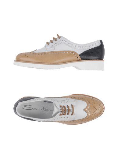 Livraison gratuite Nice vue à vendre Lacets De Chaussures Santoni gros rabais sortie 2015 aXVr3wec7