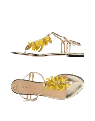 Charlotte Olympia Sandales À Bout