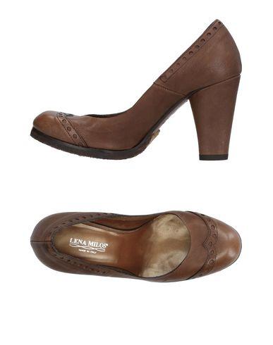 Lena Milos Chaussures achat vente Orange 100% Original achat de réduction offres en ligne Centre de liquidation pAG7Ag