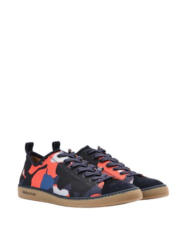 Miyata Camo Mens Chaussures Rouge Ps Baskets Paul Par Smith ImYbyfgv76