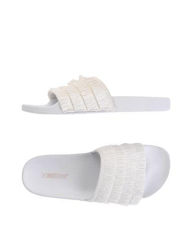 Le Brand® Blanc Rafia Sandalia visite pas cher 95UX87j