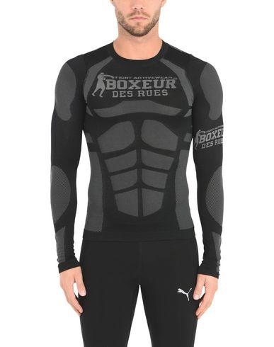 rabais de dédouanement Boxeur Des Rues Slim Fit Seamless Long Sleeve Camiseta visite nouvelle sortie l'offre de réduction pas cher 2015 de Chine 4agl58J