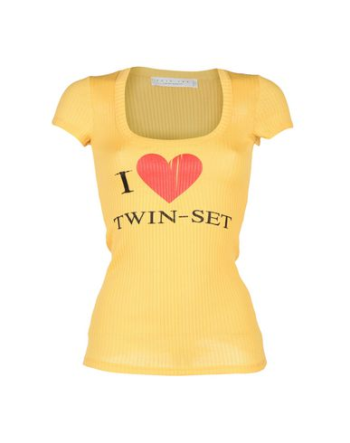 Twin-set Barbiers Simona Camiseta jeu en ligne best-seller pas cher sortie acheter obtenir vente grande vente j3CBa