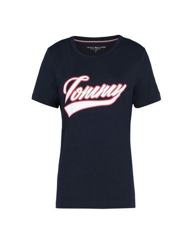 Tommy Hilfiger Tommy Script Logo Tee Prt Ss Camiseta