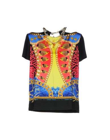 Jean Versace Camiseta sneakernews bon marché vente meilleur endroit visite rabais XuwtUK8Up