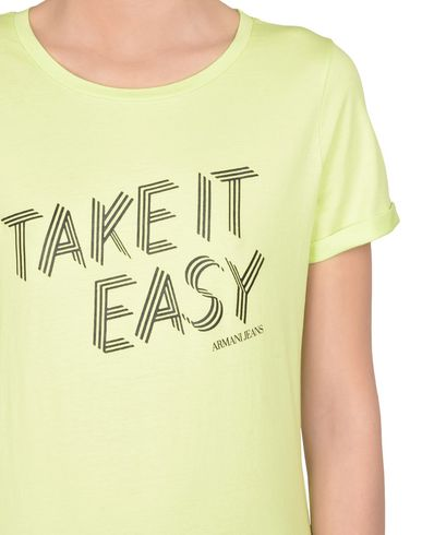 Livraison gratuite rabais Armani Jeans Camiseta photos à vendre Nouveau cqjpkgoEJ