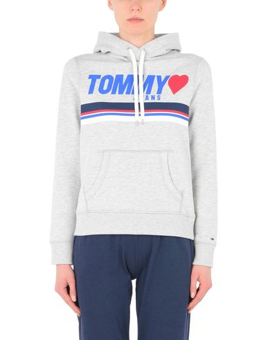 Hoodie Logo Jean Tommy De Sudadera vente 2015 Nouveau magasin d'usine Footlocker rabais dernière ligne DM11lruS