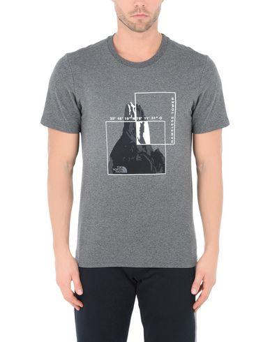 Le Tee Flash Ss Face Nord M Camiseta Gris sneakernews de sortie réduction ebay NNtyHW