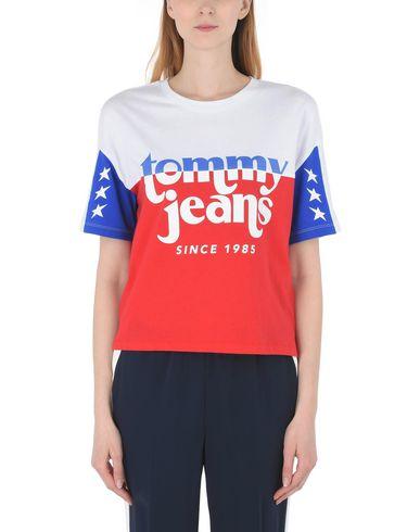 Bloc De Couleur Jean Logo Tee Tommy De Camiseta sortie en Chine WvPIPXw