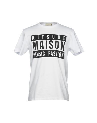 Maison Kitsuné Camiseta jeu combien vente offres exclusif ZbX5xfwOY
