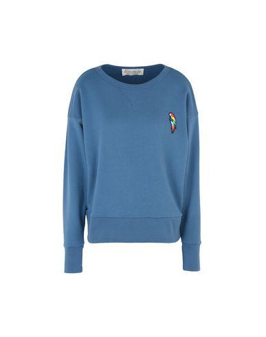 Être Cécile Parrot Badge Vintage Sweatshirt Sudadera tumblr de sortie vente pas cher acheter pas cher fgsQh