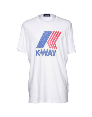 Dsquared2 X K-way Camiseta meilleur escompte bonne vente super E5cDIW