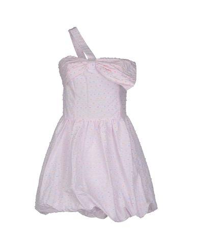 PINK BOW - Short dress