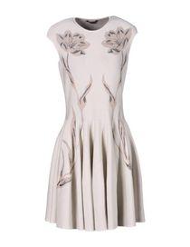 ALEXANDER MCQUEEN - Short dress