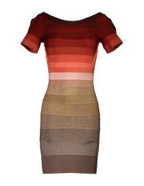 HERVÉ LÉGER BY MAX AZRIA Short dress