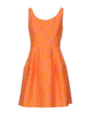 PINKO SHORT DRESS, ORANGE