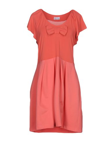 RED VALENTINO SHORT DRESSES, CORAL