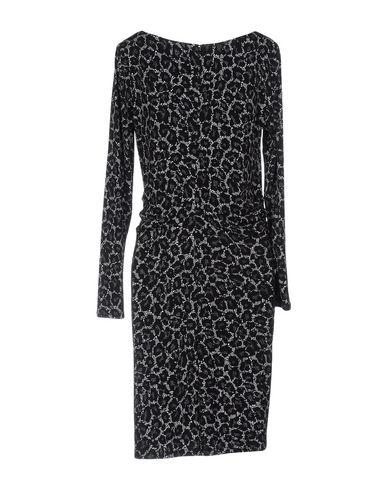 MICHAEL MICHAEL KORS SHORT DRESSES, BLACK