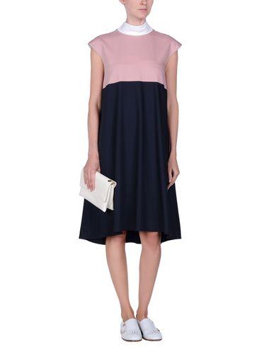 style de mode Genou Robe Marine Jil Sander nicekicks discount abordable Best-seller H3hQPW