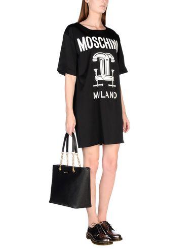 Moschino Minivestido magasin d'usine pas cher Manchester rabais réel à vendre 2014 rdWA9gsODW