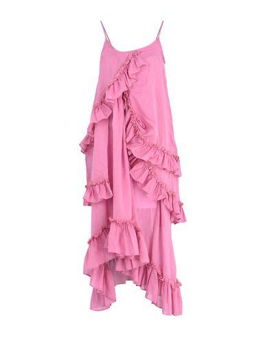 style de mode photos à vendre Rose À Pois Longue Robe 12DbG