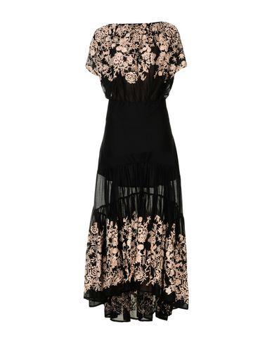 Longue Robe Robe Corail Noir Corail Longue c54RjA3Lq