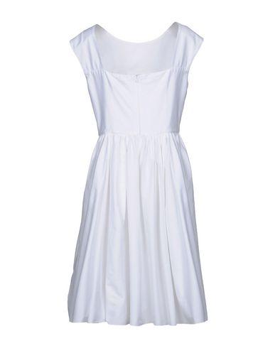 vente 2014 unisexe Genou Robe De Lumière Blanche rabais vraiment 2015 nouvelle vente Gz3Nr