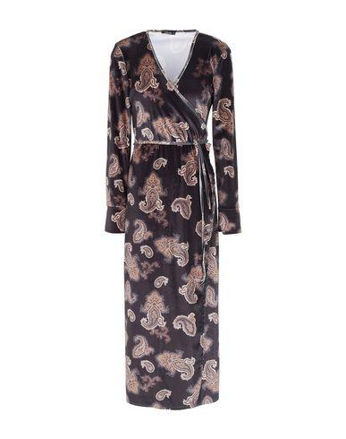 Heureusement Robe Mi-mollet confortable à vendre OkLUmuuWy