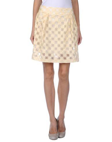 ROSE' A POIS - Knee length skirt