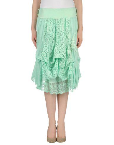 GOLD CASE - Knee length skirt