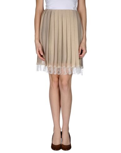 GOLD CASE - Knee length skirt