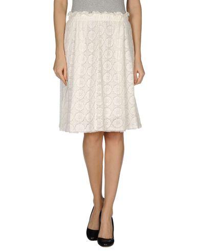 PUROTATTO - Knee length skirt