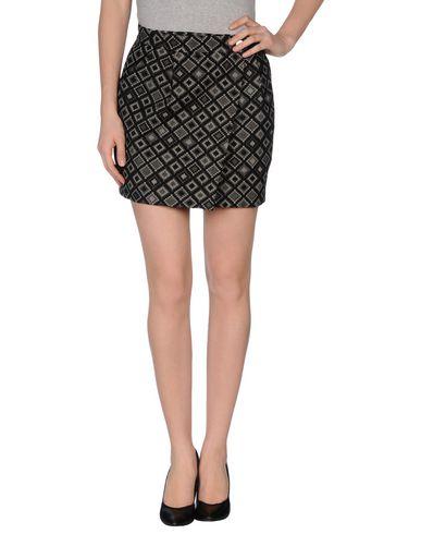 PINKO GREY - Mini skirt