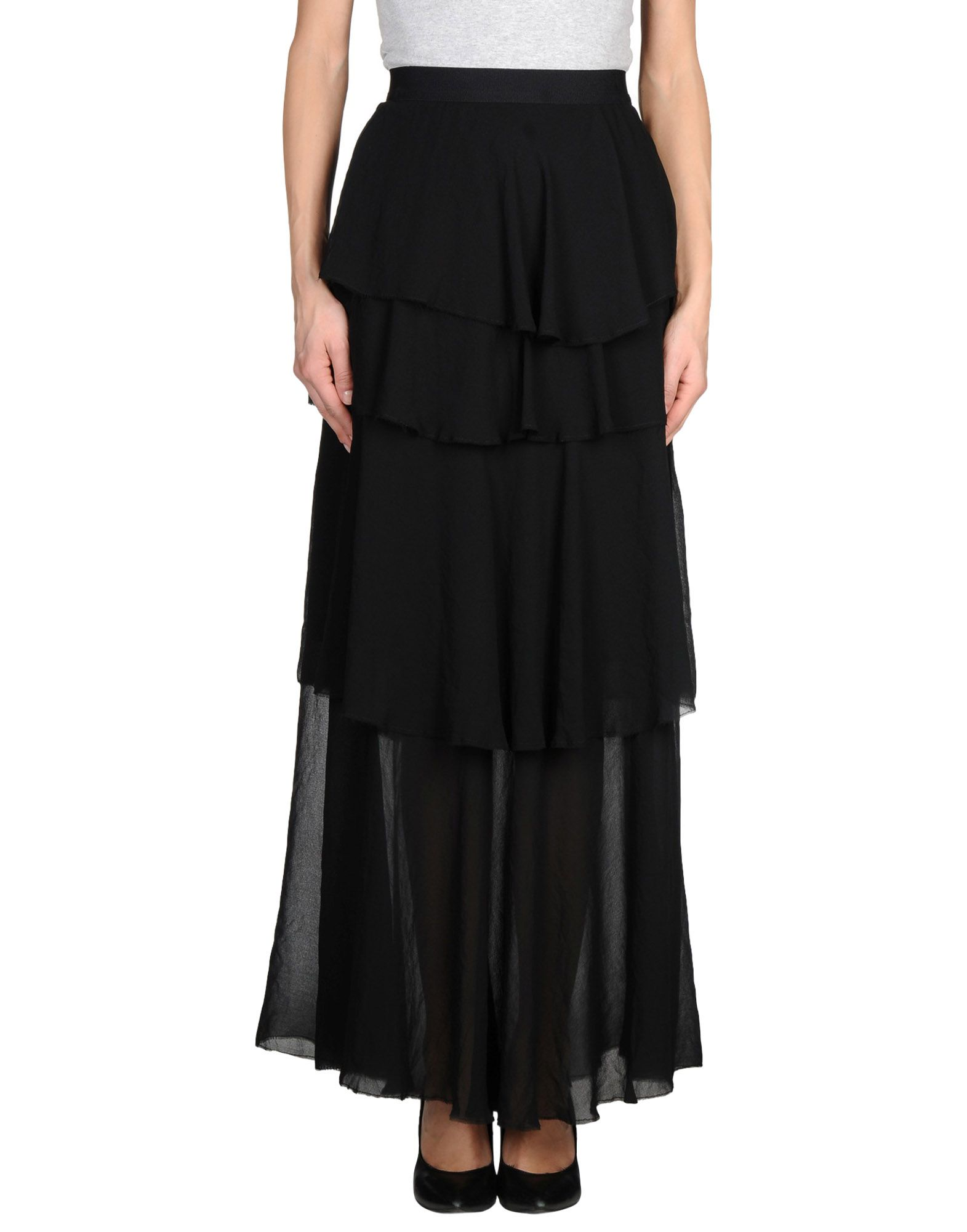 Space Style Concept Long Skirt   Women Space Style Concept Long Skirts   35240034