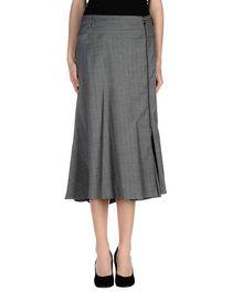 OBLIQUE - 3/4 length skirt
