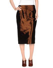 GAI MATTIOLO - 3/4 length skirt