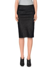 NEW YORK INDUSTRIE - Knee length skirt