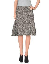 LANVIN - Knee length skirt
