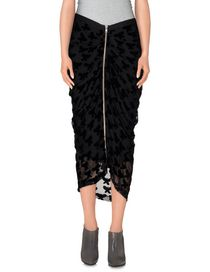 BAND OF OUTSIDERS - 3/4 length skirt