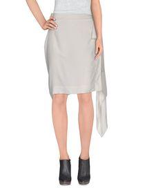 RICK OWENS - Knee length skirt