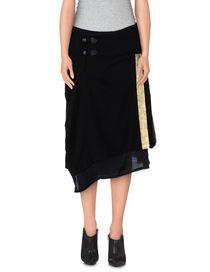 Y'S YOHJI YAMAMOTO - Knee length skirt