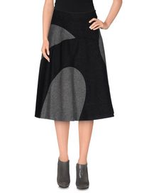 PAUL SMITH BLACK LABEL - Knee length skirt