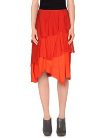 CEDRIC CHARLIER - Knee length skirt
