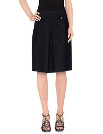 BREBIS NOIR - Knee length skirt