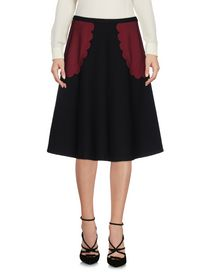 REDValentino Knee length skirt