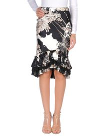 ROBERTO CAVALLI Knee length skirt