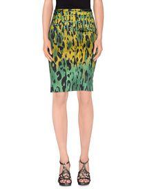 GAI MATTIOLO JEANS - Knee length skirt